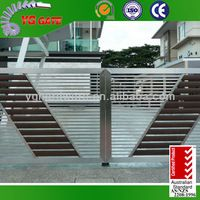 Source Modern Stainless steel main gate design on m.alibaba.com