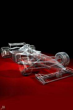 F1 car Skeleton #supercar