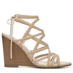 2c225e543f19 Fergalicious Women s Baxter Wedge Sandals (Nude)