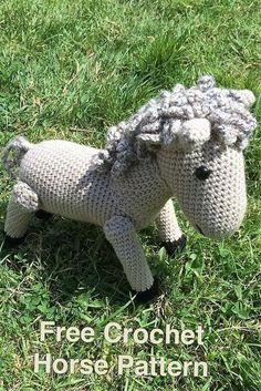 crochet-horse