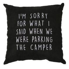 """Sorry Pillow, 16"""" x 16"""" - Sam Salem & Son - CW-DEC-PLW - Pillows Survival Life Hacks, Survival Supplies, Survival Quotes, Camping Survival, Survival Prepping, Survival Gear, Survival Skills, Camping Hacks, Camping Ideas"""
