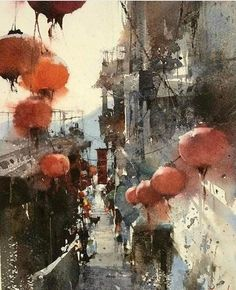 Painting by Chein Chung Wei