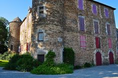 Toulouse-Lautrec's childhood home - Château du Bosc in Aveyron close to the Tarn