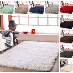 Affinity Home Collection Cozy Shag Area Rug x - 17330445 - Overstock Shopping - Great Deals on Affinity Home Collection - Rugs Teenage Girl Bedrooms, Girls Bedroom, Bedroom Decor, Bedroom Rugs, Bedroom Ideas, Living Room Modern, Rugs In Living Room, My New Room, My Room