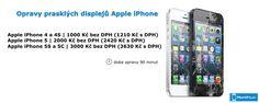 Oprava prasklých displejů Apple iPhone od iPhonePro.cz