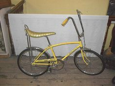 Banana Seat Bike - No 70's childhood was complete without it