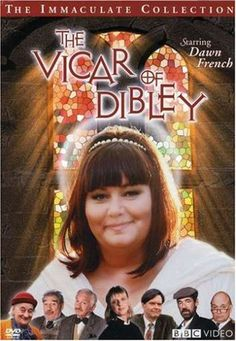 We love the Vicar of Dibley at our house.  I can't stay awake  for a movie,  but I can make it at half a hour with the vicar.  Available  on netflix  or Amazon.