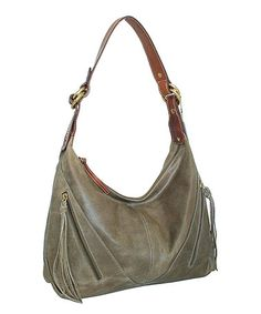 Another great find on #zulily! Stone Rodeo Leather Hobo #zulilyfinds