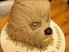 Image result for chewbacca cake