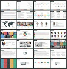Omni - Creative Presentation by Tugcu Design Co. on Creative Market Creative Presentation Ideas, Presentation Slides, Business Presentation, Presentation Design, Presentation Templates, Ppt Design, Tool Design, Layout Design, Layout Template