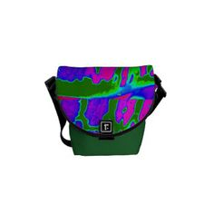 This mini rickshaw courier bag looks great with these modern colors.  Super size and interesting colors.  Buy it as a gift for someone special.  Super cool!