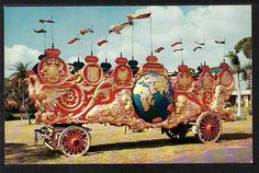 Band Wagon Circus Hall of Fame Sarasota FL Post Card 5457 - bidStart (item 21175411 in Postcards... Sarasota)