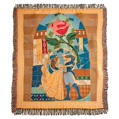 Disney Throw Blanket - Beauty and the Beast Throw