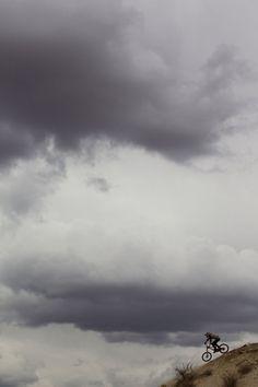 Wednesday night storm. #redbull #rampage