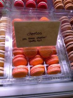 Cheetos Macaron at Macaron Parlor | 39 Delicious New York City Foods That Deserve More Hype