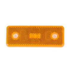 4 pieces 4*1.5'' Truck Led Reflector Tail Brake Turn Signal Light Lamp Rectangle Car/ATV LED Reflectors/Truck Side Warning Light
