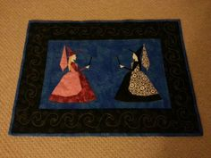 Good and Bad fairy from Spellbinding Quilts