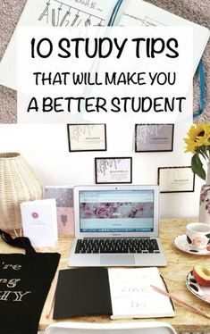 10 Study Tips That Will Make You a Better Student As uni students, we tend to push studying until the last second. Here are 10 study tips that will make you a better student and improve your marks! College Hacks, School Hacks, School Tips, Law School, College School, School Notes, School Ideas, Study Tips For High School, College Study Tips