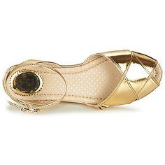 Sandalen / Sandaletten Miss L'Fire HARLOW Gold 350x350