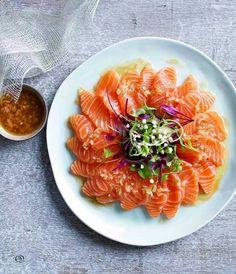 Treat yourself to some snacks! http://amzn.to/2oEqnkm Salmon sashimi