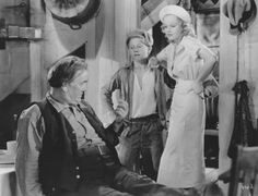 Jean Harlow and Mickey Rooney in Riffraff