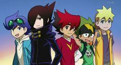 Tenkai Knights - Ceylan, Gen, Guren, Toxsa, and Chooki