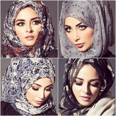 Discover the many shades of our hijabs  www.aabcollection.com  #aabcollection #aabhijab #scarf #hijab #modestfashion
