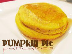 Lovely Little Snippets: Pumpkin Pie Pancakes