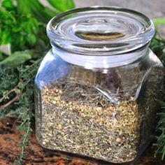 My favorite herb mix :-) Herbes de Provence - P. Allen Smith's list at the link: Sweet Marjoram, Thyme, Sweet Basil, Rosemary, Lavender. Spices And Herbs, Fresh Herbs, Spice Blends, Spice Mixes, Sauces, Smith Gardens, Fresco, Allen Smith, Artisan Food