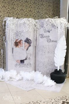"""Фотозона на свадьбе Игоря и Ольги """"Принцесса лебедь"""""""