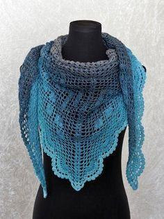 263 Besten Dreieckstücher Bilder Auf Pinterest Crochet Patterns