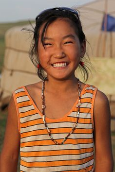 Nomad girl of East Mongolia
