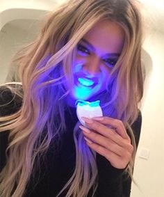 Natural Teeth Whitening Remedies Are light-based whitening kits legit? Find out. Activated Charcoal Teeth Whitening, Best Teeth Whitening Kit, Teeth Whitening Remedies, Natural Teeth Whitening, Teeth Whitening Laser, Skin Whitening, Pole Dancing, Celebrity Teeth, Skin Lightening Cream