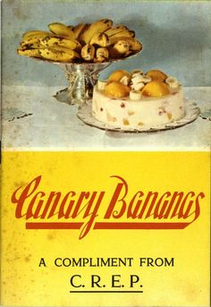 Canary Bananas: a compliment from C. Canario, Bananas, Compliments, Texts, Canary Islands, Palmas, Food, Banana, Fanny Pack