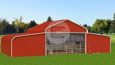 Livestock, dogs, cats or any animal that spends time outdoor in frigid temperatures runs the risk of health issues similar to humans. Metal farm buildings from Carport Central can help you to shelter your livestock and pets. Metal Horse Barns, Safety Tips, Livestock, Shed, Outdoor Structures, Horses, Pets, Health, Shelter