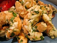 Mexican Grilled Cilantro Shrimp Recipe