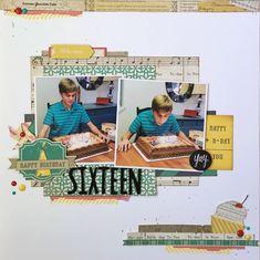 Sixteen - Scrapbook.com