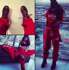 Celeb Style: Teyana Taylor Sexes It Up in Hermes Sweatsuit and Nike's