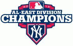 f3e761a35 New York Yankees Champion Logo (2012) - New York Yankees 2012 American  League…