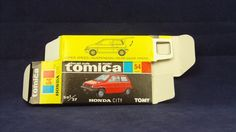 Car Honda Diecast Vehicles with Limited Edition Honda City, Scale Models, Diecast, Auction, Japan, The Originals, Car, Tomy, Automobile