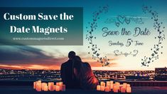 Don't let anyone miss out on your big bang day. Invite and make them remind of your Wedding Day with Custom stylish Save the Date Magnets at the lowest possible price and Save big ! Usa Customs, Invite, Invitations, Save The Date Magnets, Refrigerator Magnets, Wedding Day, Dating, Messages, Let It Be