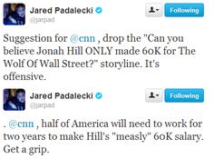 Jared Padalecki on Twitter// everyone is harping on him for calling Bieber a girl but NO ONE IS ACKNOWLEDGING THIS.