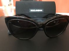 1854b7c92278bf new DOLCE   GABBANA Sunglasses Black Gray Gradient 56mm DG 4250 2917 8G   fashion  clothing  shoes  accessories  womensaccessories   ...