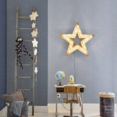 Denim Behang: Moderne kinderkamers van BN International