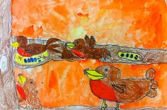 Art: Expression of Imagination: first grade art lesson