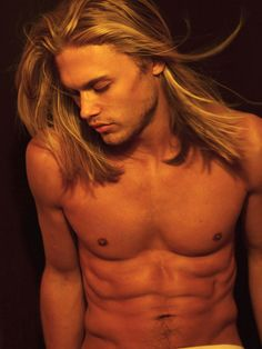 Sexy guys with long hair