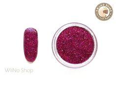 Items similar to Maroon Red Holographic Glitter Dust Powder / Sparkle Powder / Nail Art Craft on Etsy Glitter Dust, Glitter Roses, Glitter Nail Art, Luminous Powder, Nail Polish Jewelry, Rose Gold Chrome, Toe Nail Color, Nail Blog, Dipped Nails