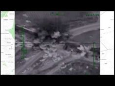 Air strike against an ammunition depot situated on the highway between Hama and Aleppo Russian Air Force, Aleppo, Syria, Islamic, Northern Lights, Nordic Lights, Aurora Borealis, Aurora