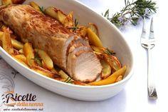 Il classico arrosto di vitella della nonna quello che solitamente veniva preparato la Domenica. Un piatto che non può mancare sulle tavole dei giorni di festa.