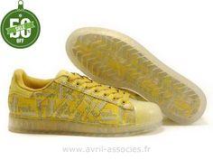Boutique Femmes Chaussures Jaunes Adidas Originaux Superstar Clr (Adidas Original Superstar)